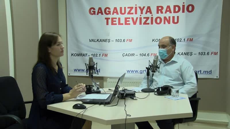 LIVE Глава скорой помощи Гагаузии на радио GRT