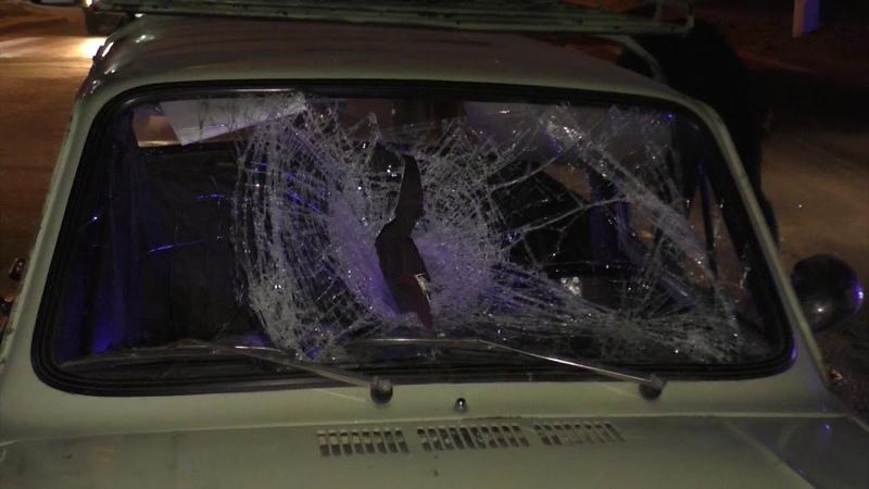 В Луганске водитель легкового автомобиля сбил пешехода