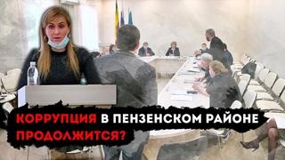 Скандал на сессии депутатов Пензенского района