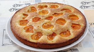 Абрикосовый пирог для сладкоежек