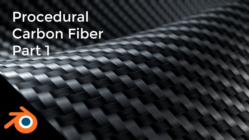 Blender 2 8 Tutorial Procedural Carbon Fiber Shader Part 1 Cycles Eevee Compatible
