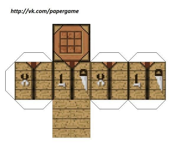 как построить дом в майнкрафте верстак