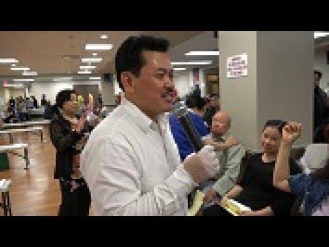 Vietbesttv- Thầy Võ Hoàng Yên chữa bệnh cho đồng bào tại thành phố Edmonton, Canada- Phần 2
