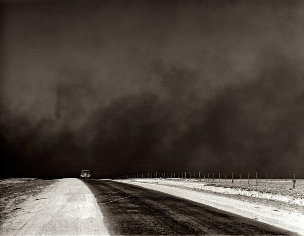 Подборка чёрно-белых фото США, 1936-1942 гг.