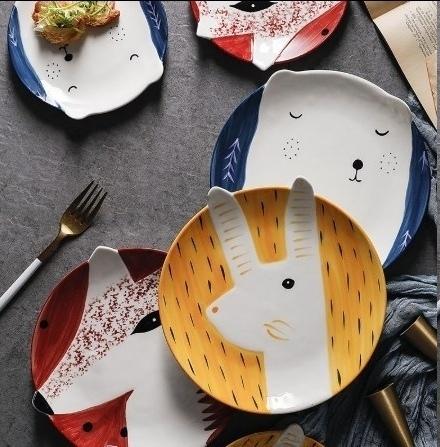 Креативные тарелочки -