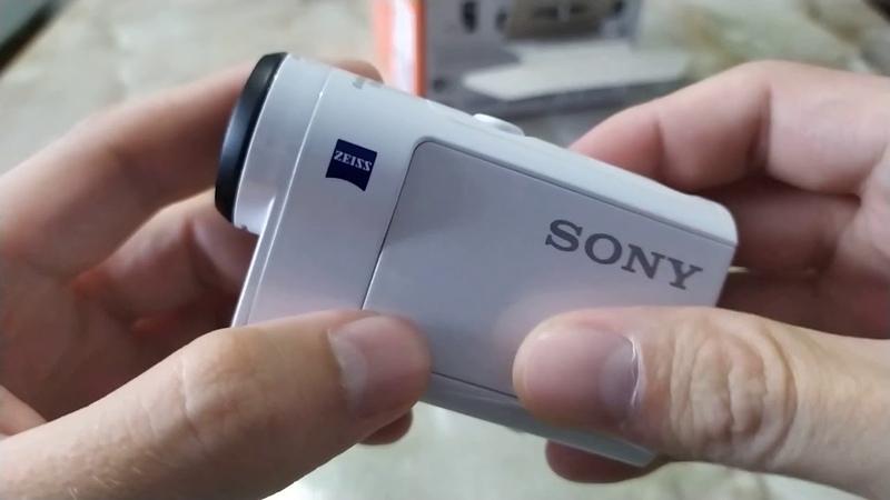 Краткий обзор Action Cam Sony HDR AS300 сравнение с Sony HDR AS30V примеры сьемки