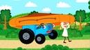 День Земли - Песенки про природу и животных - Сборник Царевна и Синий трактор!