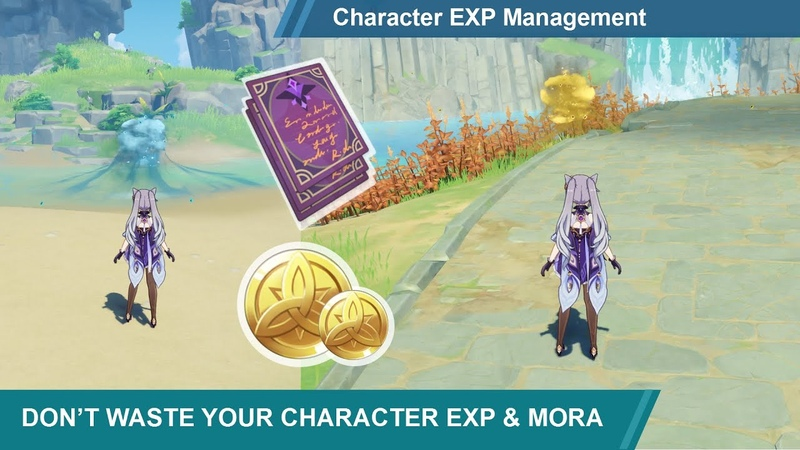 Character EXP Management [F2P Guide] | Genshin Impact