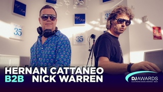 DJ Awards Exclusive Sunset 2019 - Hernan Cattaneo b2b Nick Warren Live @Café Del Mar