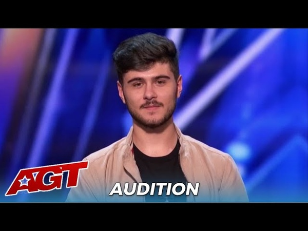 Luca Di Stefano The Judges Can NOT Beileve The Voice Coming out Of His Mouth