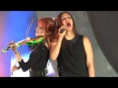 Lindsey Stirling ft. Dia Frampton - We Are Giants (Live in San Diego 5-13-14)