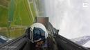 пилот-любитель теряет сознание во время скоростного маневра
