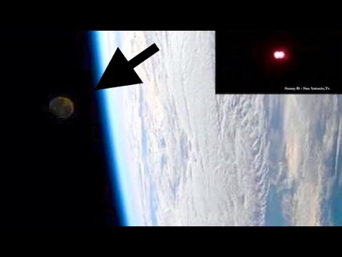 ISS Live Feed: Looked Like A MOON - Mysterious Lights SOAR Through SC and TX Skies!