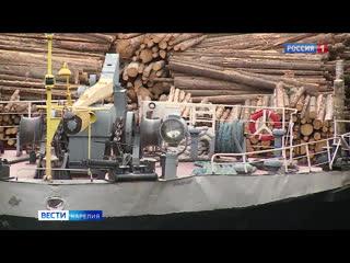 Для лесных предприятий в Карелии по Беломорско-Балтийскому каналу открылась навигация