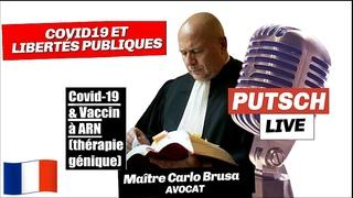 """COVID et politique vaccinale/ Maitre Carlo BRUSA """"ne mâche pas ses mots"""" ! Remix. (1080)"""