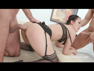 [legal ass] angie moon russian dirty slut fuck in anal dap gape roses