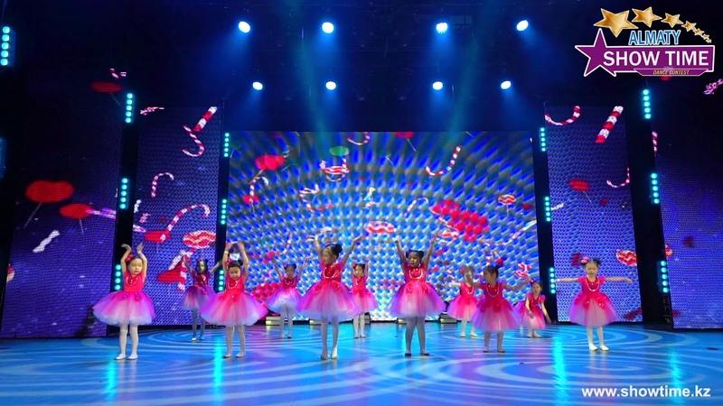 Нур Академия Маленькая страна Танцевальный конкурс Show Time Almaty осень 2019