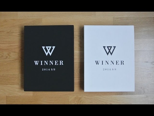 UNBOXING Winner 2014 S S Limited edition white and black Kpoptown Unboxing