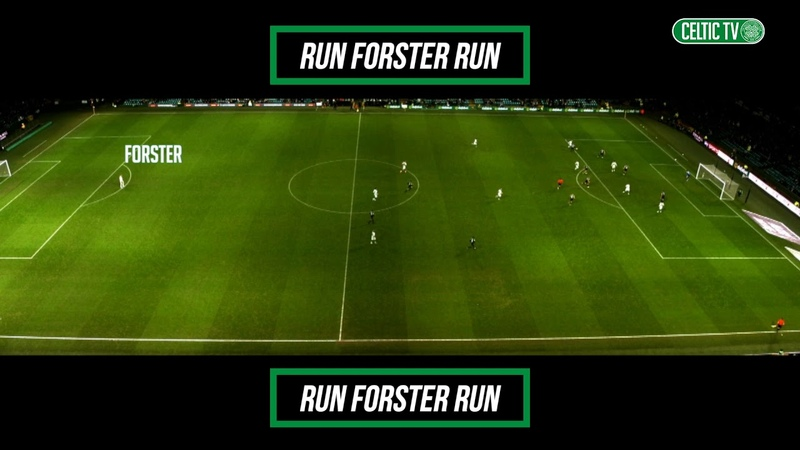 Run, Forster, Run! | Fraser runs the length of the pitch to celebrate Scott Brown's late winner!