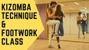 Kizomba Technique Footwork - Nemanja Kristel - Int/Adv Level 🎥