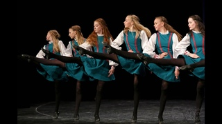 Ирландский танец Прогулка по камням, Ансамбль Локтева. Irish dance Walk on stones, Loktev ensemble.