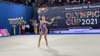 Dina Averina Clubs AA  IT Olympico Moscow 2021