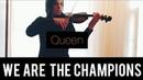 We are the champions queen скрипка. Евгений Маркарян 13 лет.