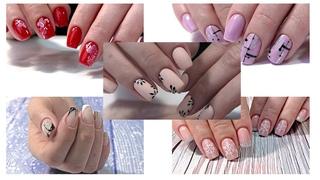 Nail Design ideas 💅 Идеи Дизайна ногтей. Хроника пятикратная! Идеи маникюра