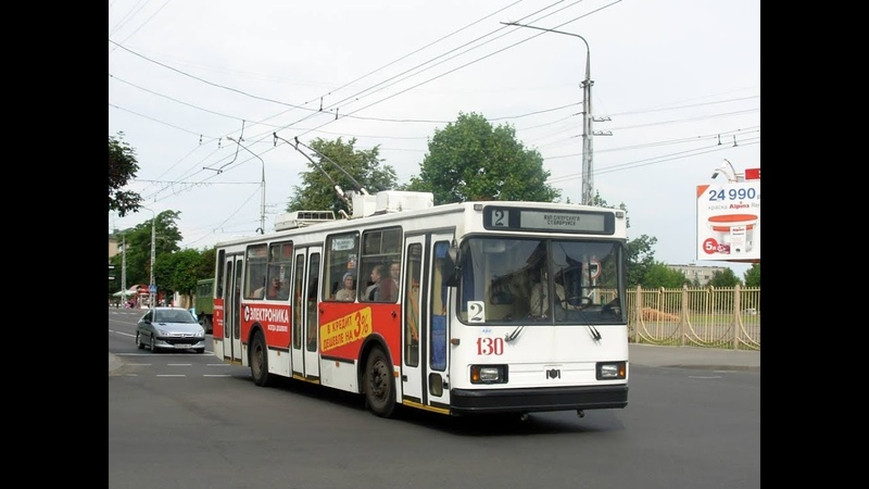 Троллейбус Бобруйска БКМ-20101,борт.№ 130 (15.07.2018)