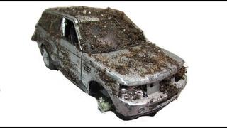 Restoration Abandoned Land Rover-Range Roger Sport\Реставрация машинки Land Rover-Range Roger Sport!