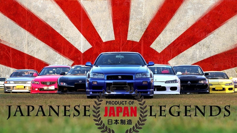 JAPANESE LEGENDS - The Greatest JDM Cars of all time!