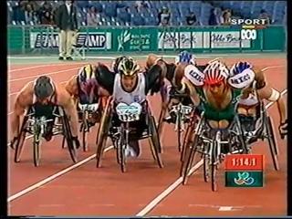 Sydney 2000 Paralympic Games - Mens T54 800m Final