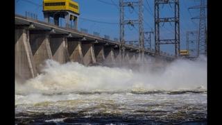Сброс воды ГЭС в ТОЛЬЯТТИ.  Пик сбросов придется на 1–10 мая.