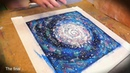 Space painting Universe/acrylic, soft pastel. Космос. Живопись.