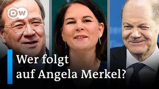 Kampf ums Kanzleramt: Wer folgt auf Angela Merkel? | Auf den Punkt