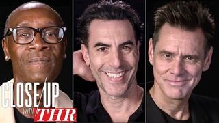 Comedy Actors Roundtable: Sacha Baron Cohen, Jim Carrey, Don Cheadle & More | Close Up