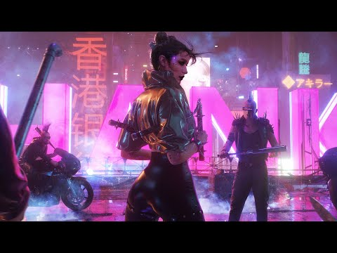 UNCIVILIZED | 1 Hour Music Mix | Epic Cyberpunk Synthwave Music by Kevin Rix
