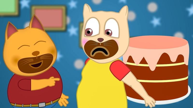 ПодыграйКа Брюс и Стивен решили ПОХУДЕТЬ Мультфильмы для детей