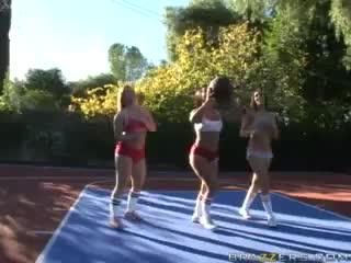 Brazzers: Katja Kassin & Sandra Romain & Rachel Starr (Big Tits In Sports) =>