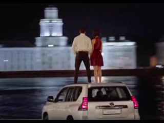 Василий Артемьев в рекламном ролике Toyota Land Cruiser Prado