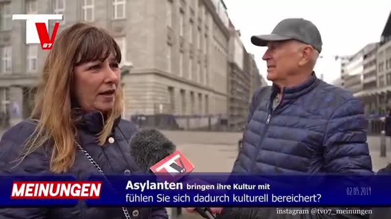 KULTUR - -Asylanten kulturelle Bereicherung für Deutschland --