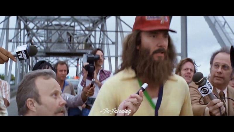 Keanu Reeves in Forrest Gump Running Scene
