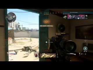Unintentionally got a triple collateral headshot and wanted to share