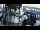 Union City S.W.A.T. team assaulting terrorist threat at train station.