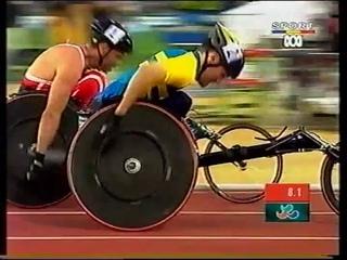Sydney 2000 Paralympic Games - Mens T52 800m Final