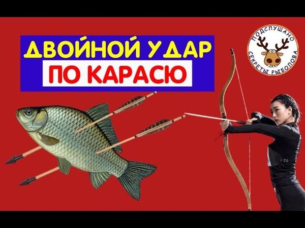 Убийца карася по НОВОМУ Этот двойной удар выгребет ВСЮ рыбу