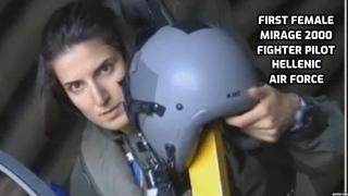 First Female Mirage 2000 Fighter Pilot - Hellenic Air Force (Γυναίκα χειριστίς)