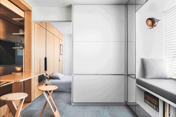 Квартира лофт 26,9 кв.м