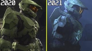 Halo Infinite 2019 vs 2020 vs 2021 Early Graphics Comparison