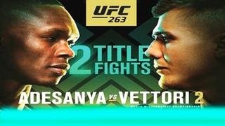 UFC 263: Адесанья - Веттори 2